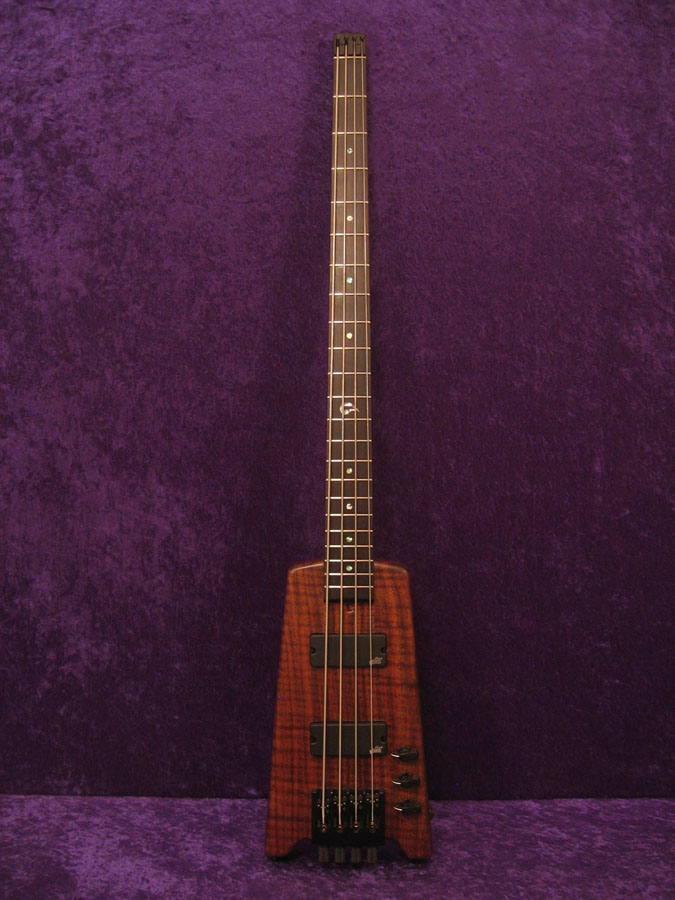 35 Inch Scale Headless 4 string bass