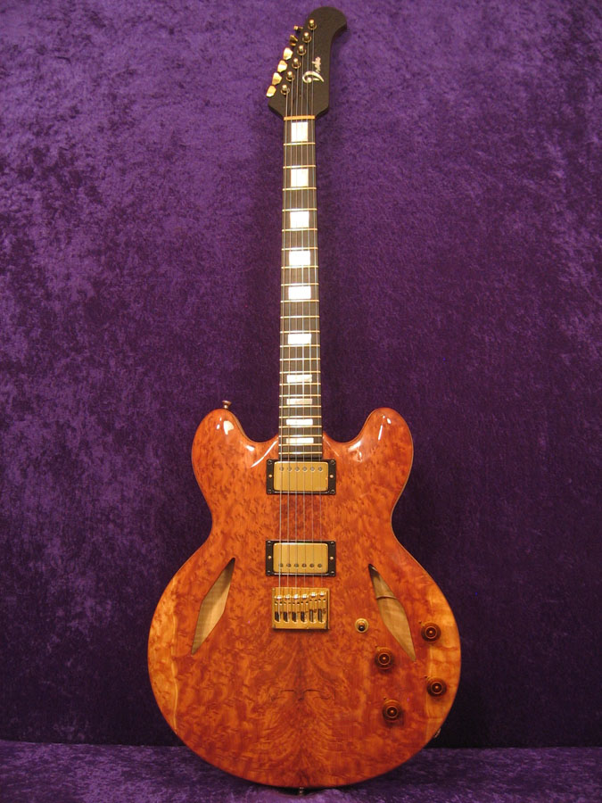 Custom Semi-Hollow Guitar