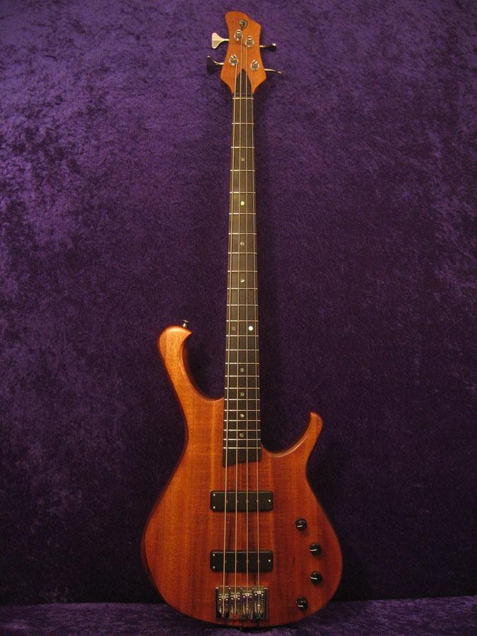 Koa 4 string bass