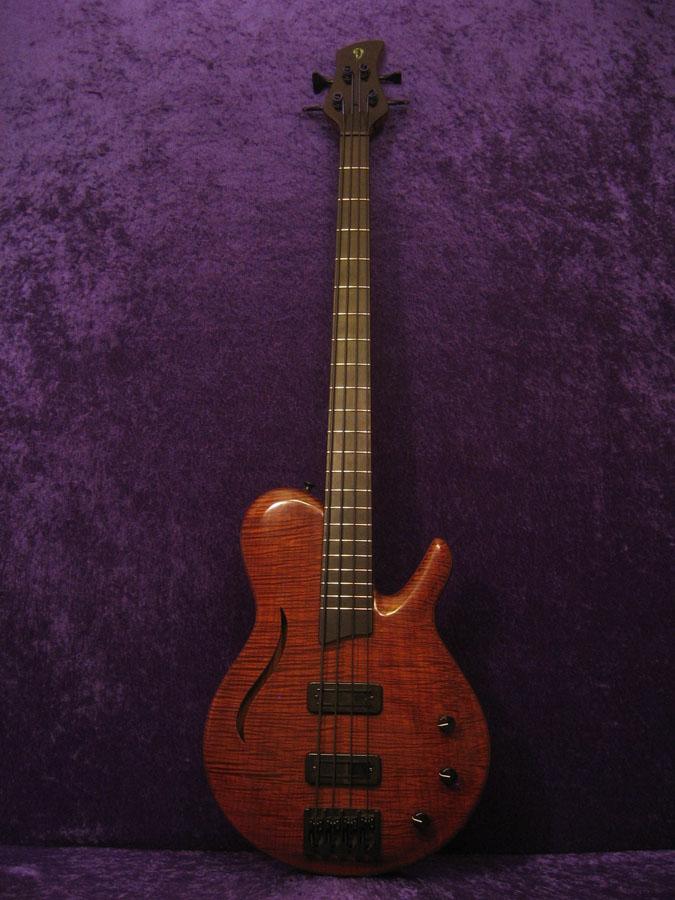 M10 hollow body 4 string bass