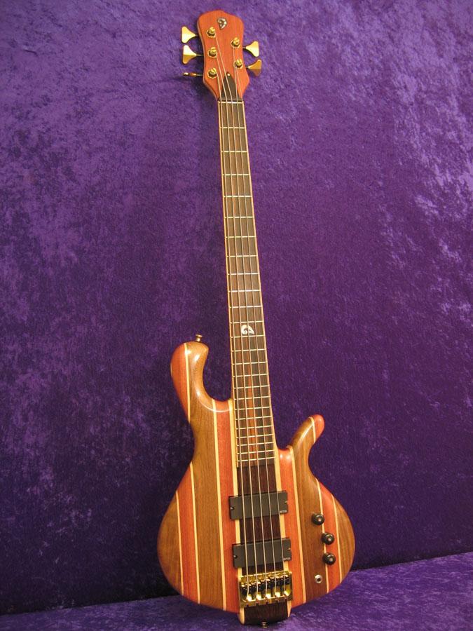 Model 5 Custom 5 string bass